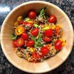 Quinoa salad Instant Pot