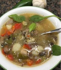 To prepare the Turkey soup from leftover turkey, follow this simple easy to prepare recipe.